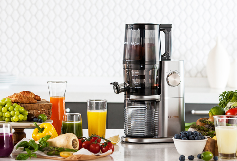 Hurom H-AI Series Smart Hopper slow juicer_pc
