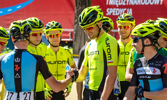 Hurom sponsors cycling team for Tour de Pologne (Tour of Poland) _main pc